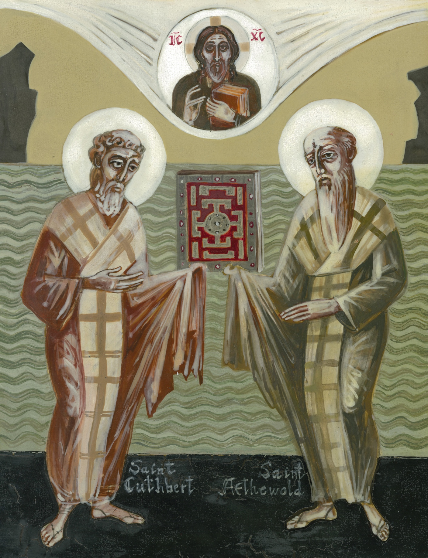 Icon of Ss. Cuthbert and Aethelwold