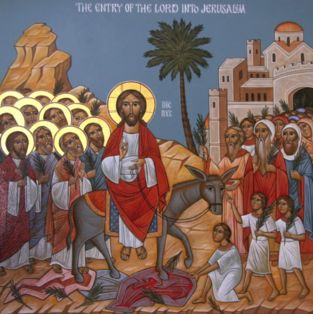 Icon of the Triumphal Entry into Jerusalem