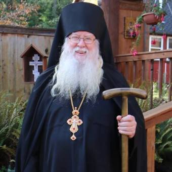 Abbot Tryphon of the All Merciful Saviour Monastery on Vashon Island, Washington State, USA