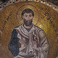 Mosaic of a Priest