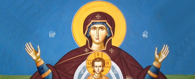 Love of the Theotokos Icon