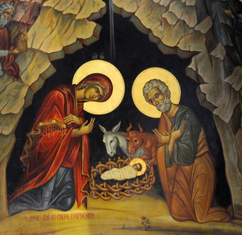 Nativity of Christ Icon