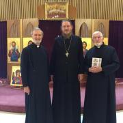 Fr. John Behr, Fr. Geoff Harvey, and Dn. John Whiteside