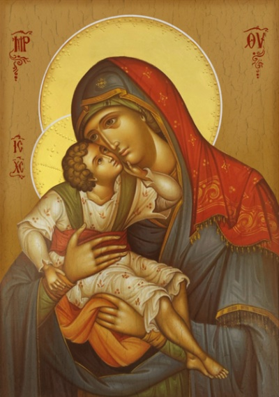 Theotokos with Child Icon